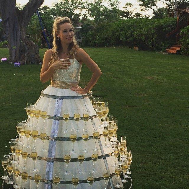 Unique Traditional Scottish Wedding Dress Festooning - Wedding Plan ...