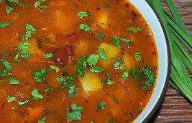 суп с тушенкой пошаговый рецепт с фото