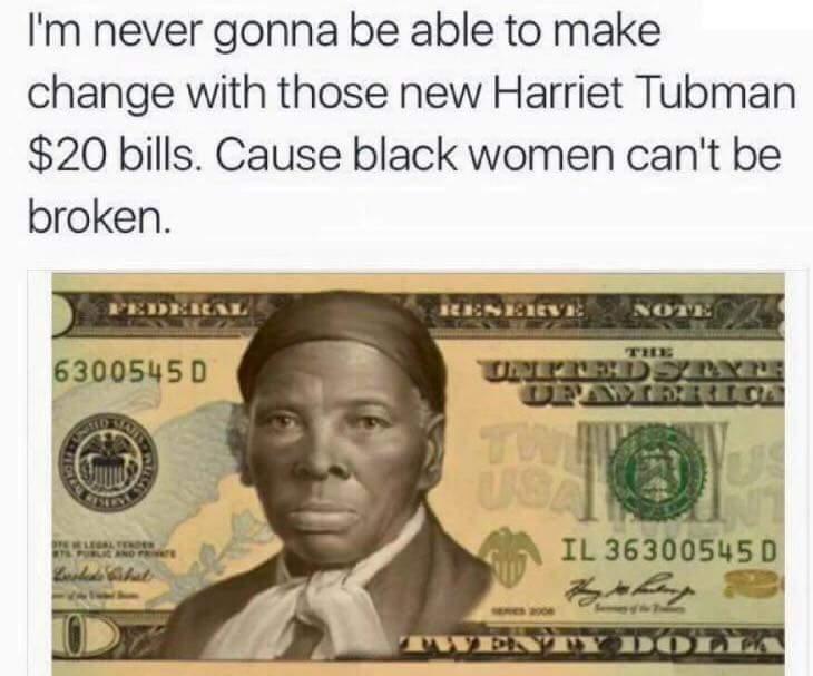 Andrew Jackson Harriet Tubman Meme