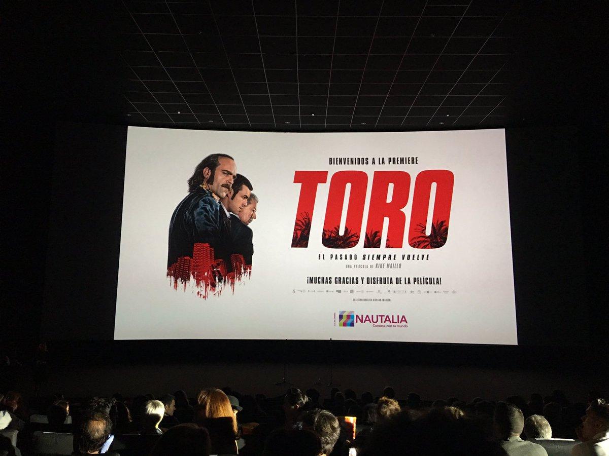 Gran trabajo de #luisTosar #MarioCasas, #JoseSacristan y todo el equipo de #toro. https://t.co/5X2sGLqYGw