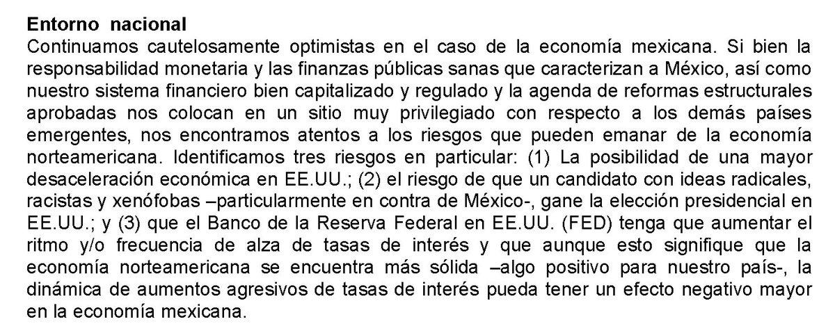 #ExpectativasIMEF ¿Cuáles son los principales riesgos para la economía mexicana? https://t.co/8f6aW7nJNX https://t.co/70VLOnE5S1