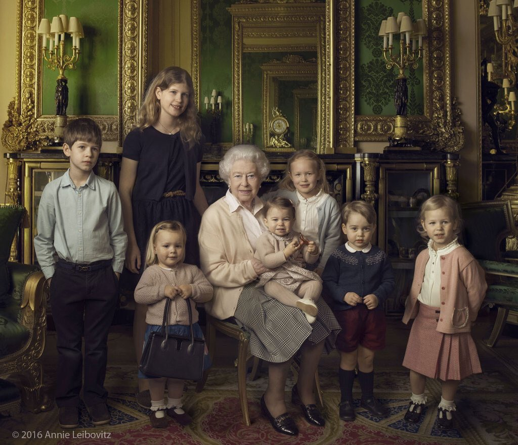 These @annieleibovitz images are stunning. #HappyBirthdayYourMajesty