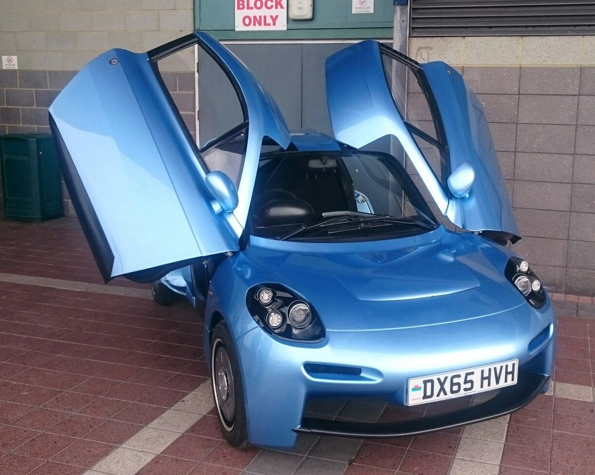 The 580kg, hydrogen fuelled Rasa by @riversimple. #invest #crowdfunding #sustainable https://t.co/edEEfLNCqV #sws16 https://t.co/PBcmTokDLz