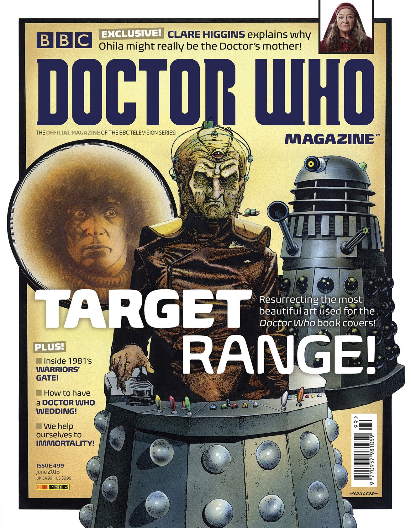 Book Covering Contact Target : Dwm target range doctor who tv