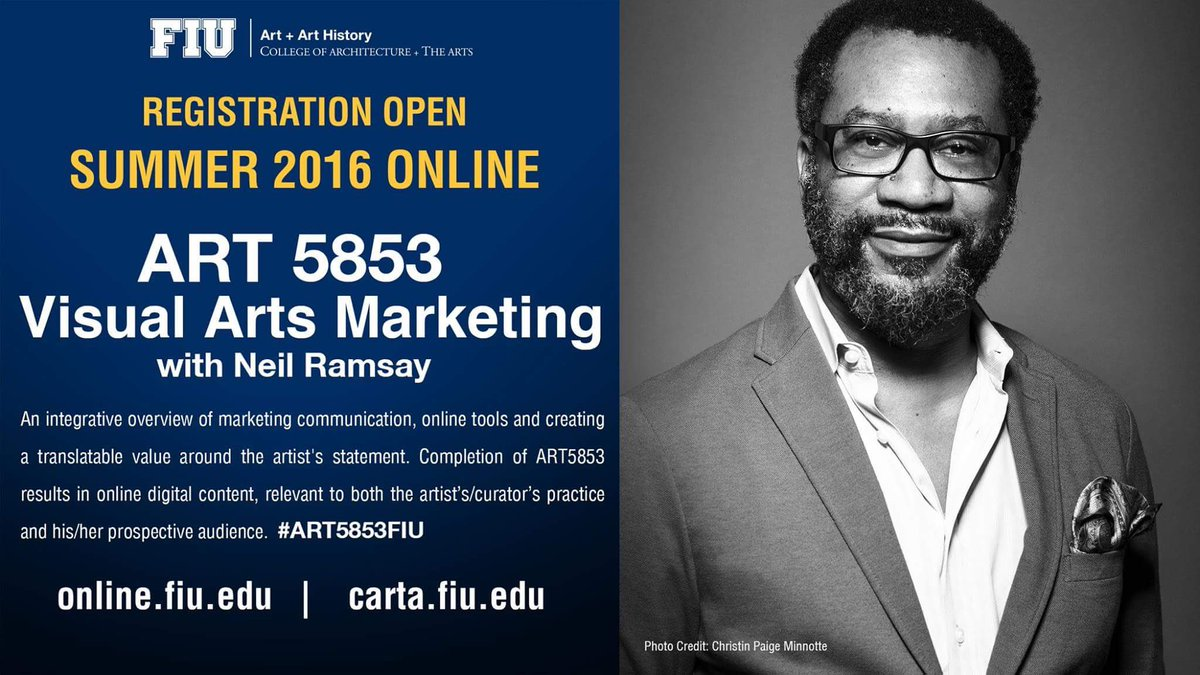 Empowering the art practioner @clarkhulings @LoudenStudio @creativzus @creativecap #artschool #ART5853FIU #edu https://t.co/1dbd66jW3M