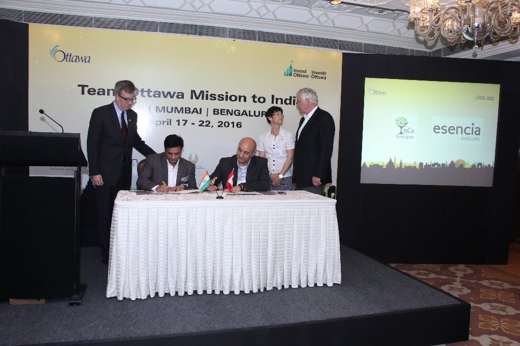 Thanks for opportunity @JimWatsonOttawa @nadirypatel @Invest_Ottawa @invest_canada @CanadainIndia https://t.co/ffFiOnEuCw