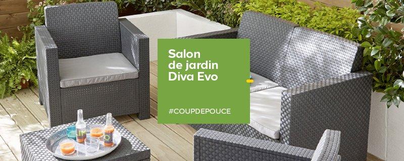 Salon de jardin castorama 169€ - Jardin piscine et Cabane