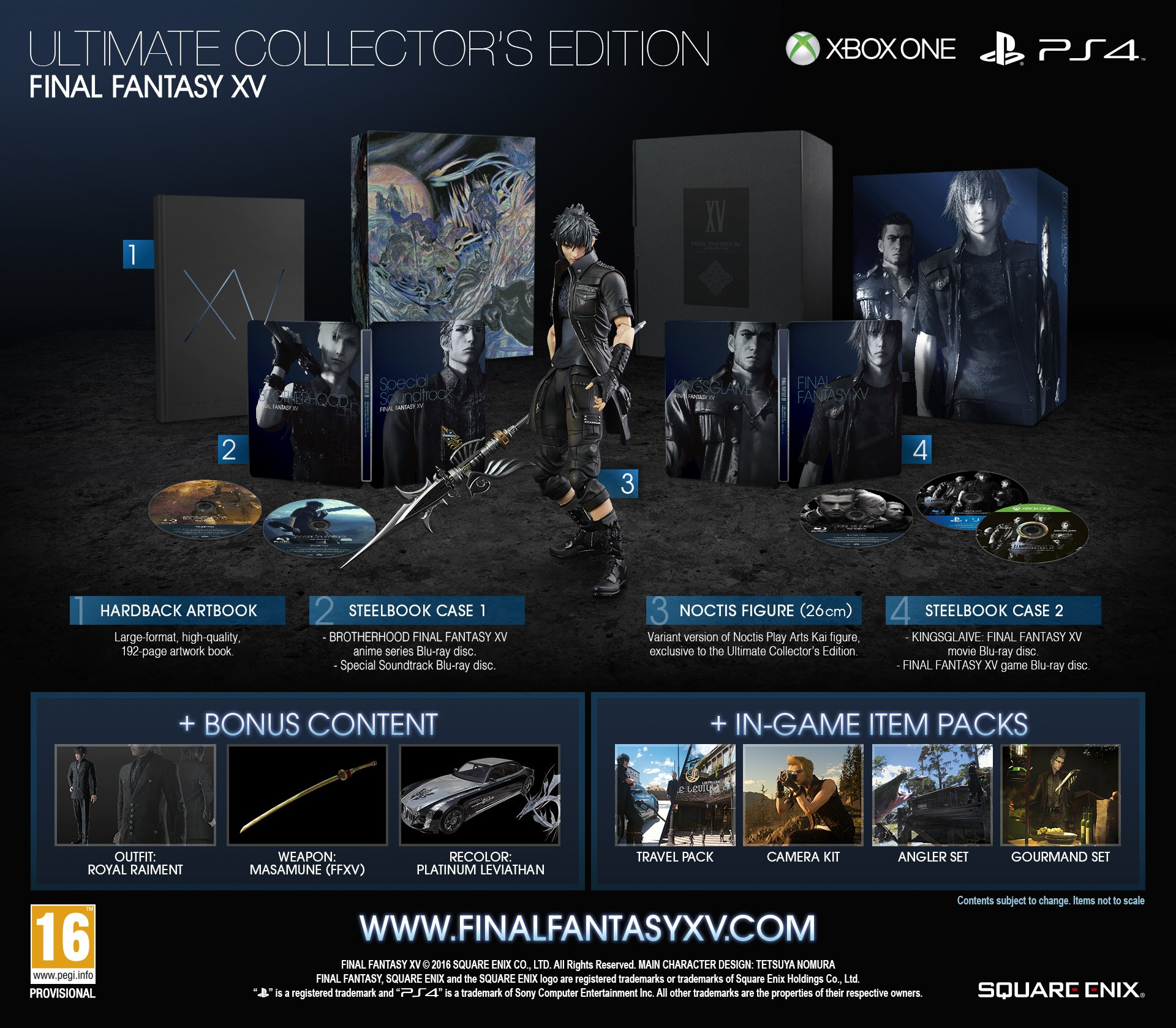 Square Enix Producing More Final Fantasy XV Ultimate Collector's Editions 1