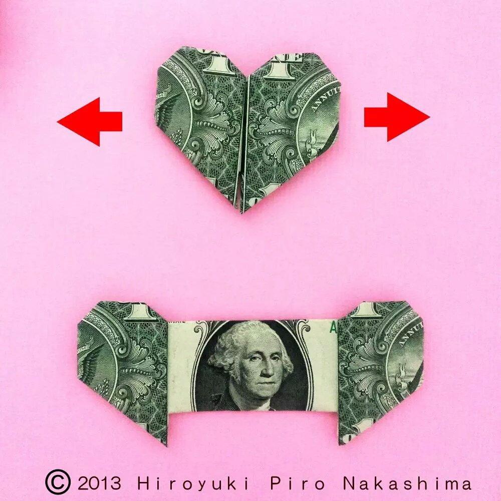 1000 円 札 折り 方