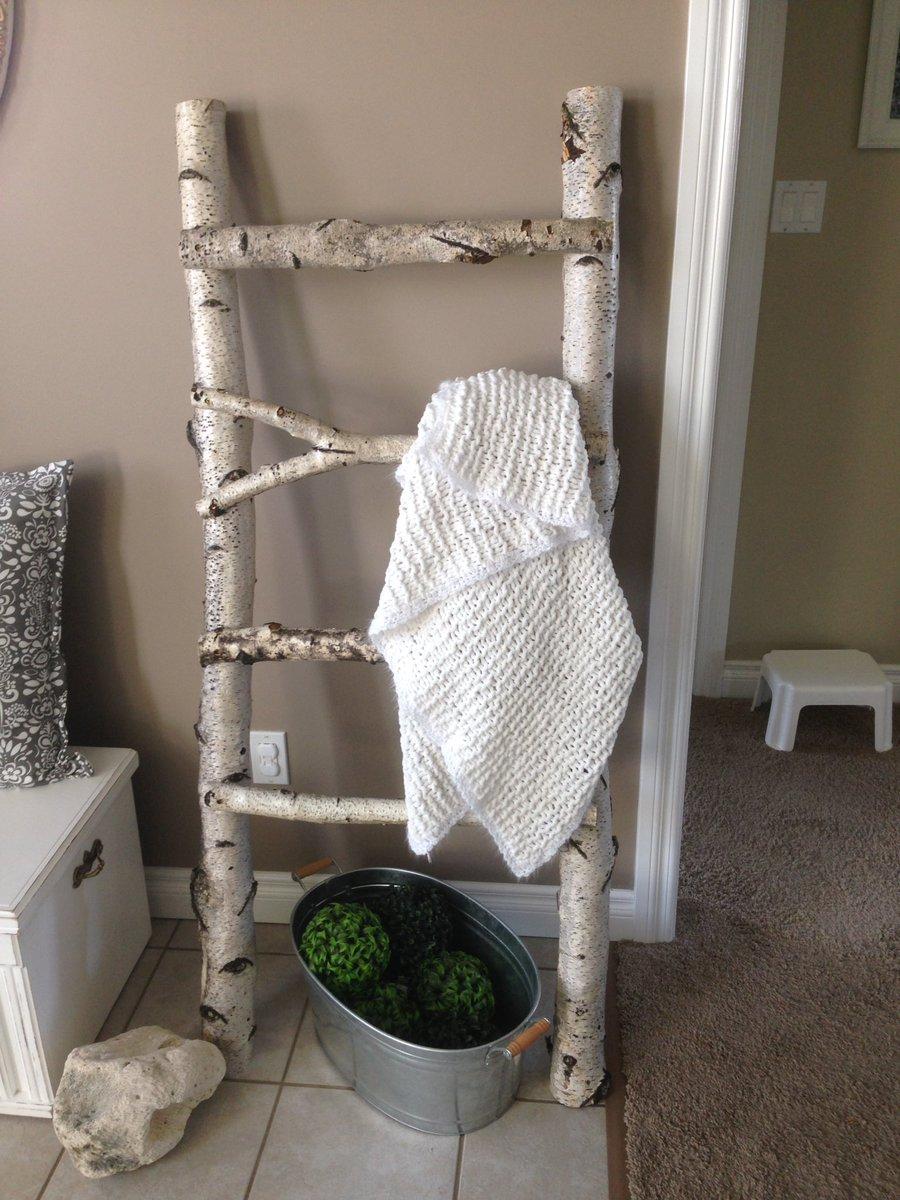 Dustin Mcnamara On Twitter Birch Blanket Ladder Tea Light Holder Coasters Coasters Candleholder Diy Birch Blanketladder Woodworking