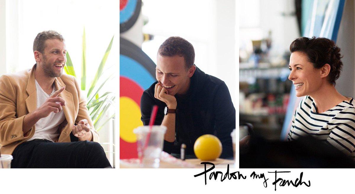 A new #PardonMyFrench! Talking about spreading the love w/ @jeromejarre  + @curtiskulig ! / https://t.co/avGaMj6bli https://t.co/40tTVD80wv