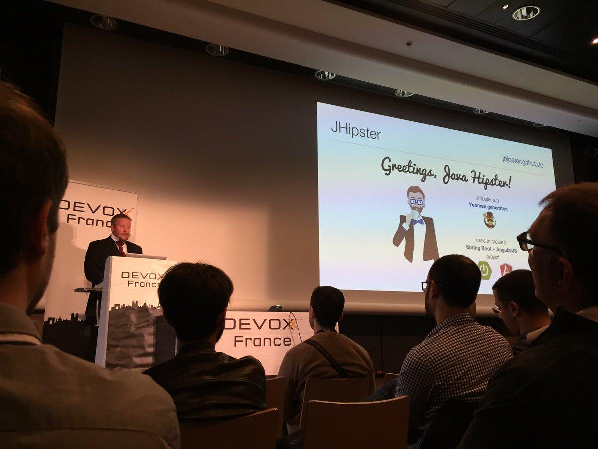 OJD-3590 Get Hip with JHipster: Spring Boot + AngularJS + Bootstrap ∞ Devoxx