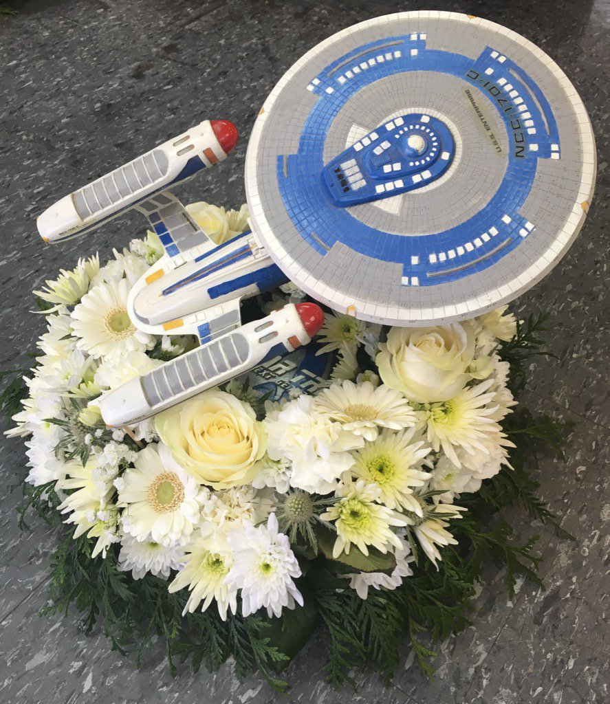 Open all flowers on twitter lovely star trek themed funeral 651 am 21 apr 2016 izmirmasajfo Choice Image