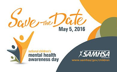 Children's Mental Health Awareness Day is May 5! PLEASE join us in celebrating #HeroesofHope! https://t.co/M0i2FHcBvN