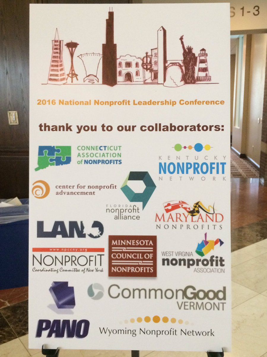 Great 2nd day at #NPLeadership16 thanks @CenterNonprof for bringing together the best minds in #nonprofit sector! https://t.co/LYfgFcQ5kY