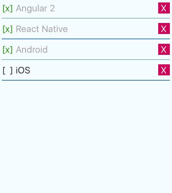 Angular: Angular 2 + React Native
