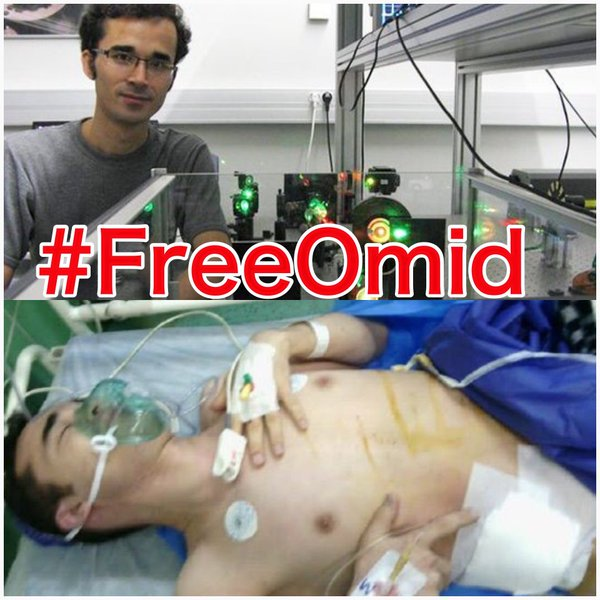 Young physicist Omid Kokabee paying heavy personal price for humanitarian choice to not sell his expertise #FreeOmid https://t.co/8QLX3Fppos