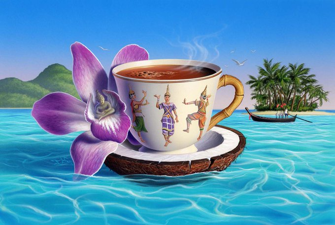 Открытка с добрым утром море, открытки вербному воскресению