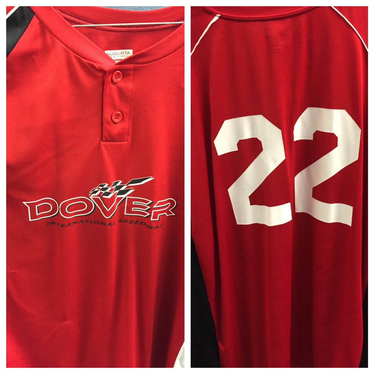 #TBT @joeylogano led #TeamDover to victory on 4/21/15. RT to win this jersey from the #DoverPocono game! (Size 3x) https://t.co/zQxCMdBcIm