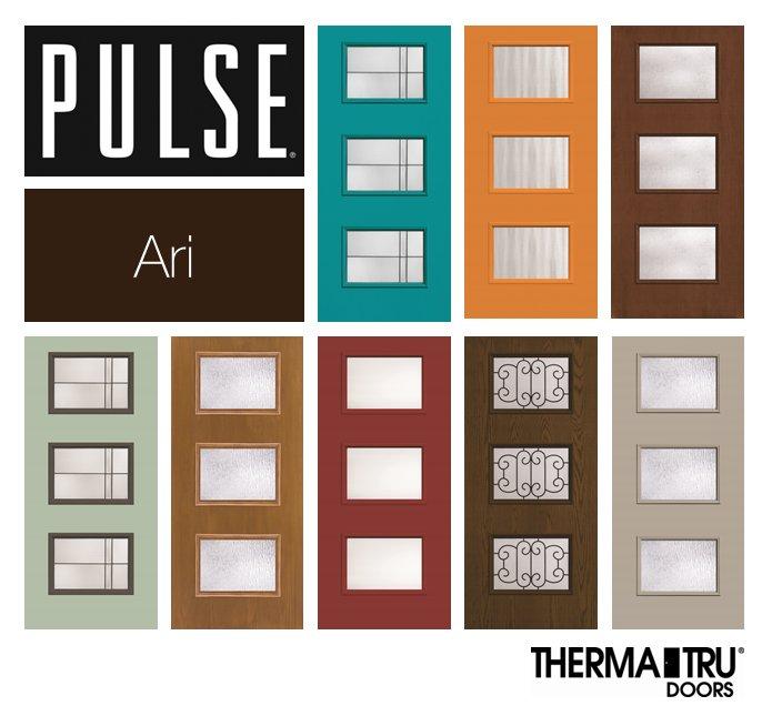 Therma tru doors on twitter frontdoor inspiration for Therma tru pulse