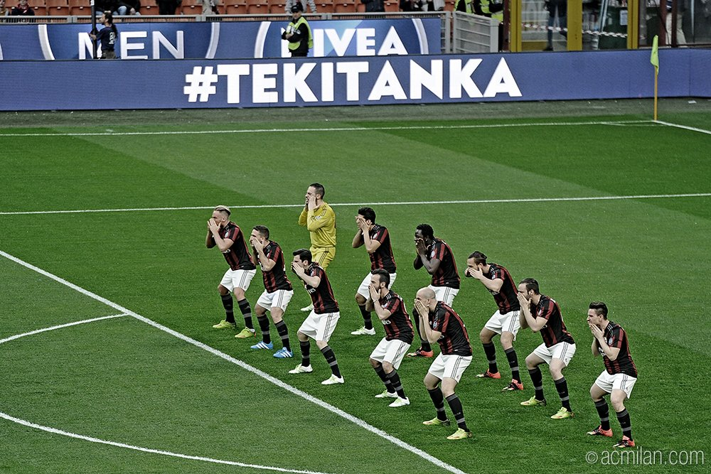 MILAN-CARPI 0-0: Video Milan-Haka, con la danza Tekitanka degli All Blacks