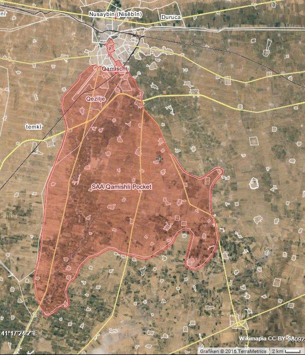 WorldOnAlert On Twitter Qamishli Map Assad Forces Control - Qamishli map