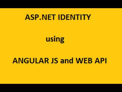 Login Using AngularJS and WebApi – Tutorial2
