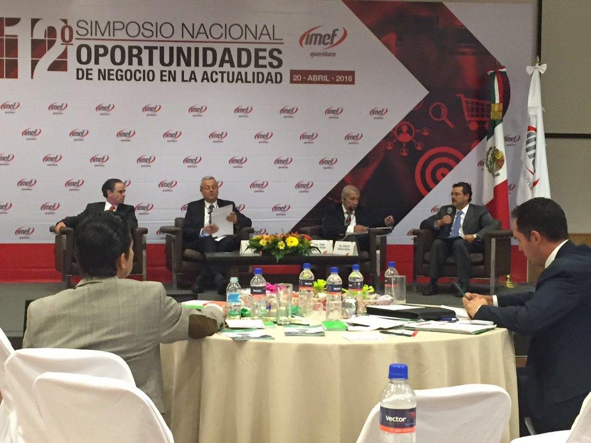 Presidente @aherrerar90 participando en el Simposion Nal de Oportunidades de Negocios organizado por @IMEFOficial https://t.co/9C8RBTObDD
