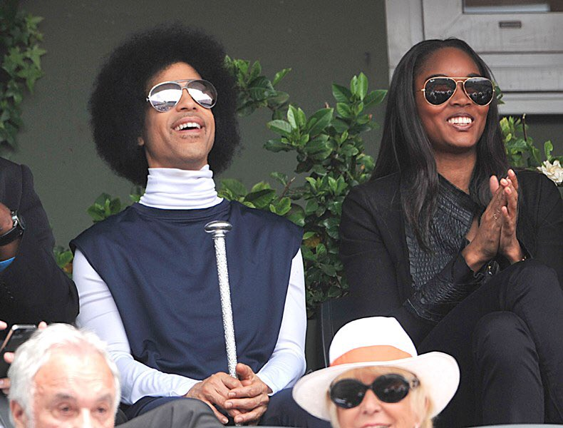 Prince was also better at watching tennis than everyone. https://t.co/eDLNCurdO0