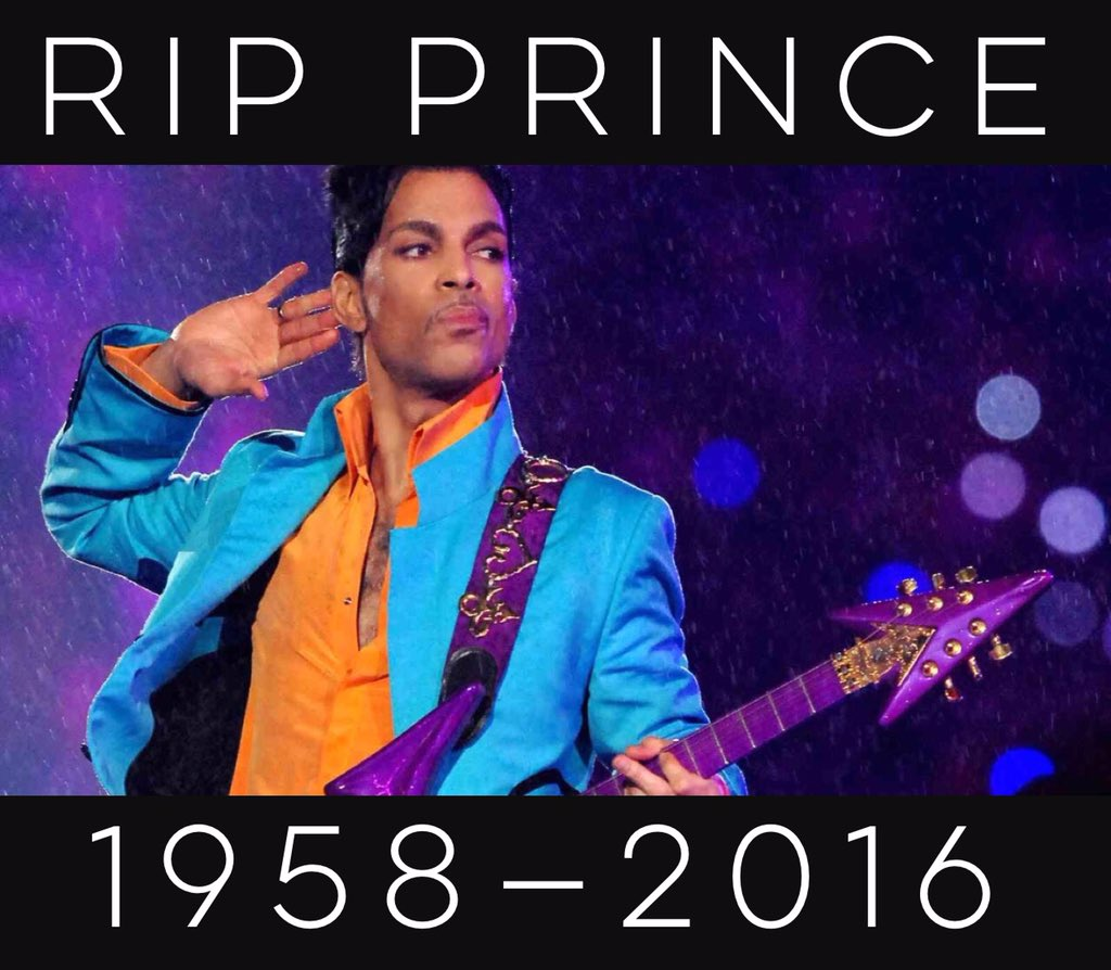 RIP #Prince. With heavy hearts, we say goodnight to an amazing musician & artist. We'll see you on the other side. https://t.co/5htT9wktDP