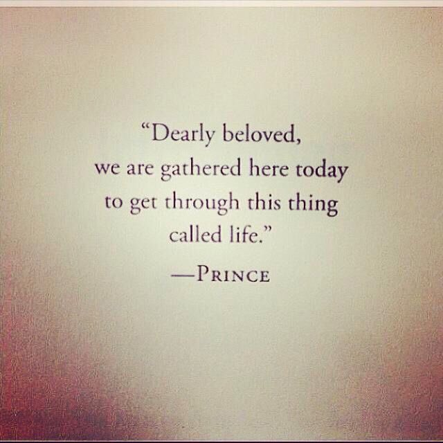 Don't waste yours.  It's precious. Will miss this musical genius. #Prince https://t.co/i7bkzGlFYQ