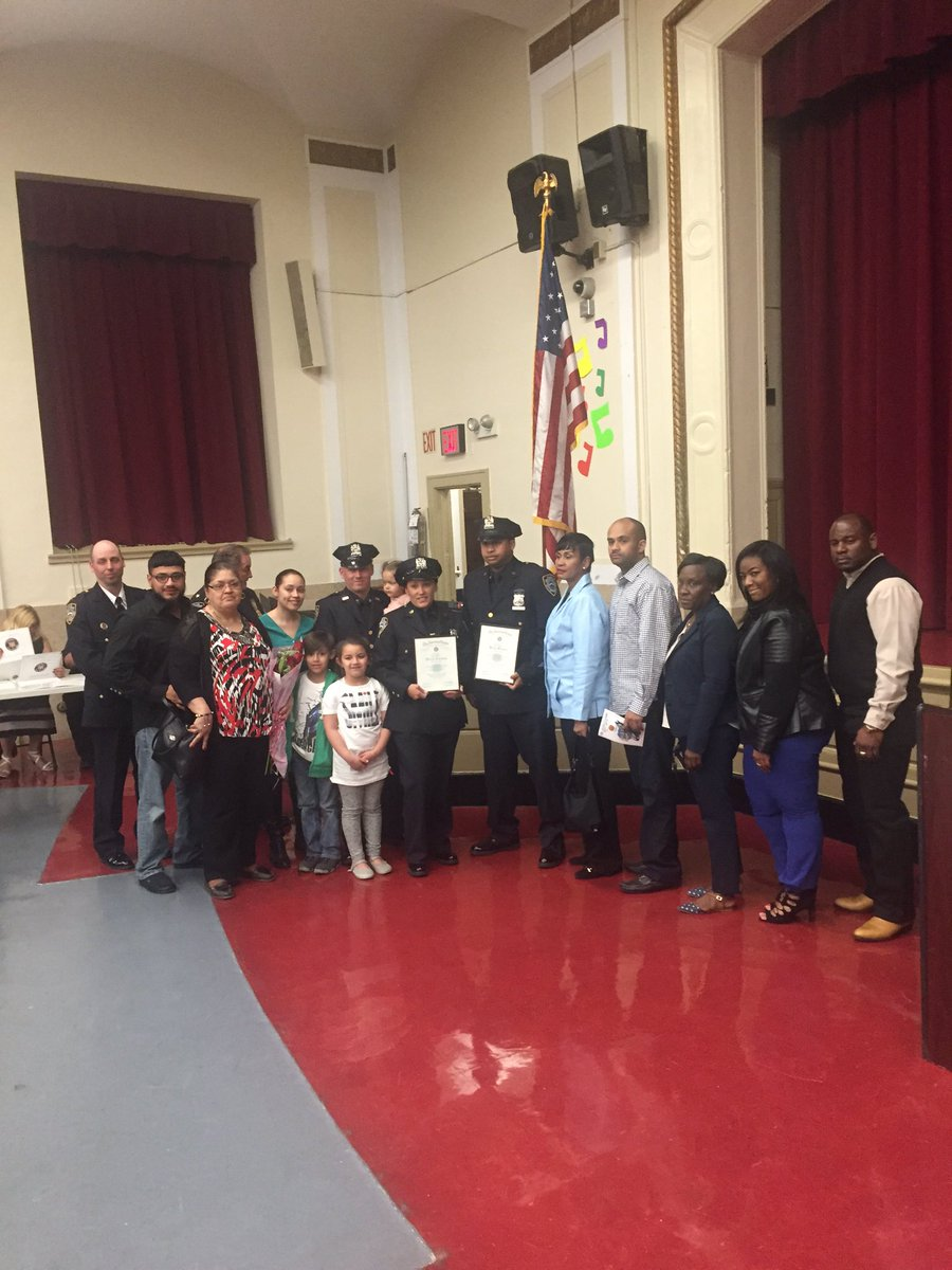 NYPD 78th Precinct On Twitter American Legion Honoring 78 Pcts PO Brown Cordero For Safely Delivering A Baby Brooklyn Street 11 23 15