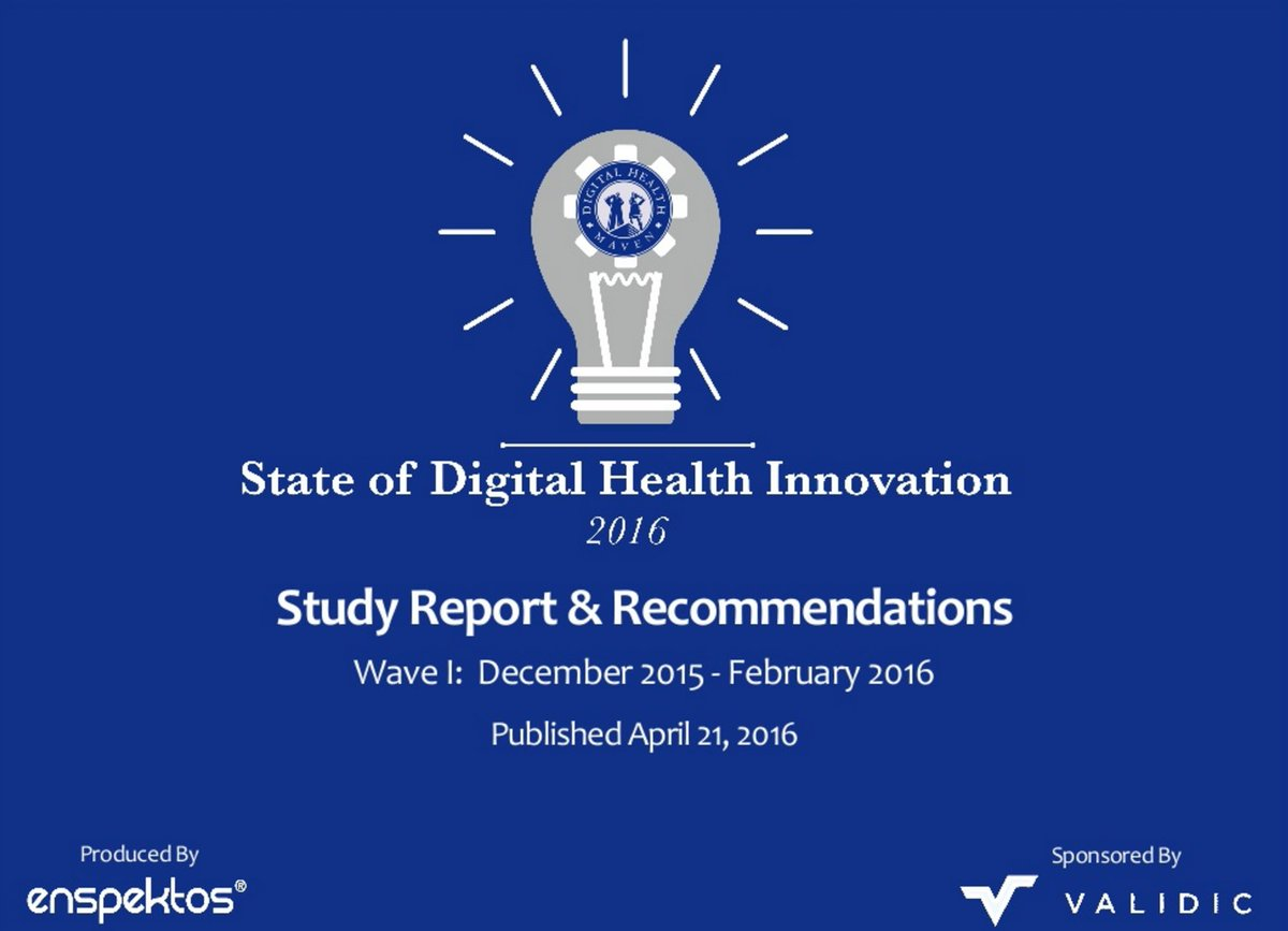 Important for any interested in #Digital #Health #Innovation: perspectives from 150 https://t.co/in7YIREJrm @FardJ https://t.co/8yuvKyF0jy