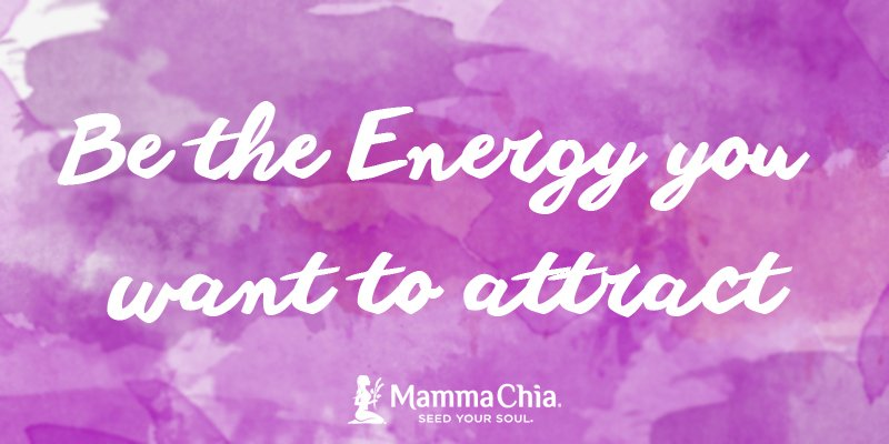 Today's #Mantra: Be the #energy you want to attract. #SeedofKnowledge https://t.co/Tn1O1A4K8p