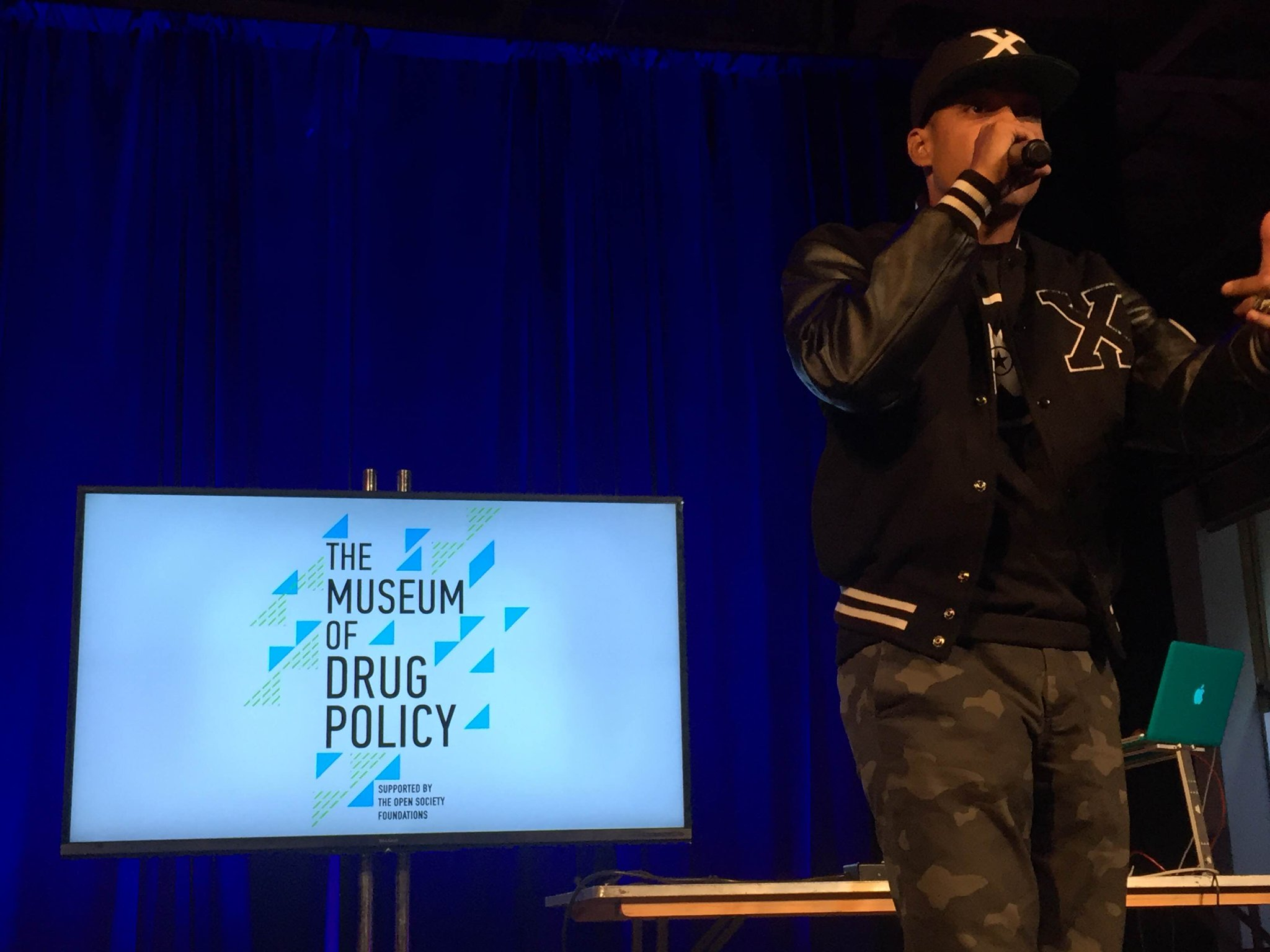 RT @Stop_The_Harm: @jasiri_x blesses the mic @ Museum of Drug Policy's closing session https://t.co/RktYoNBra0 #stoptheharm #ungass2016 htt…