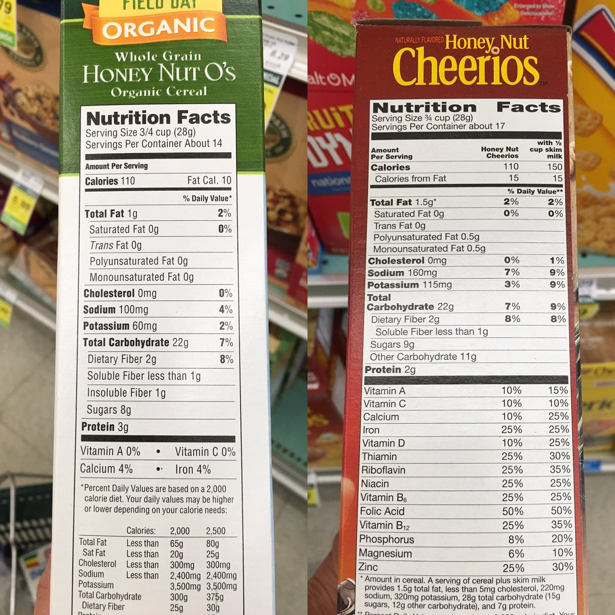 Non-GMO is less nutritious.  Labels spell it all out. #paymoreforless https://t.co/jBo1rHjHsG