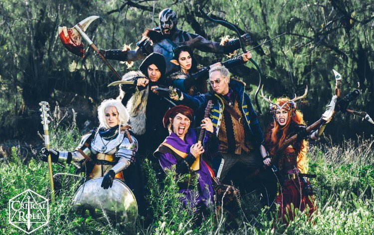 Critical Role On Twitter From Vox Machina To You Happy