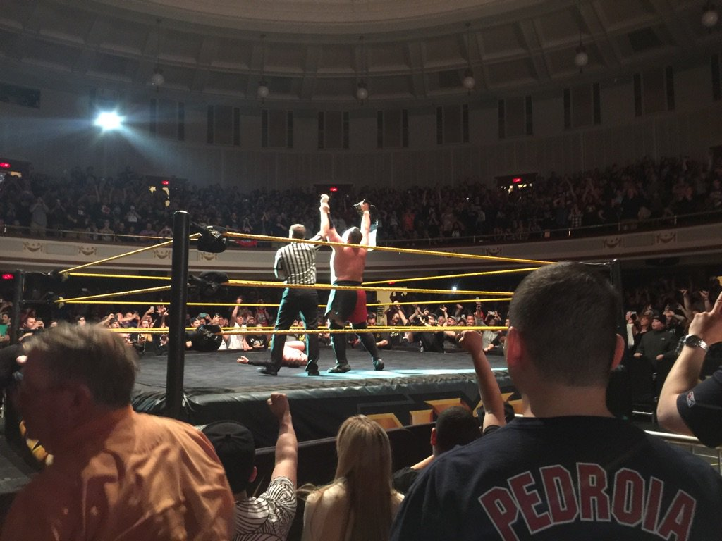 Holy shit!!!!! #NXTLowell https://t.co/LVjD9ed5i1