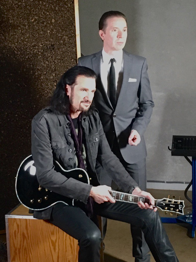 Bruce Kulick and Robert Haglund