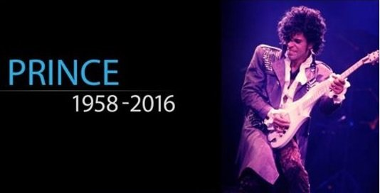 #RIPPrince for I will always love you for your music, be in awe of your talent, and miss your presence in the world.