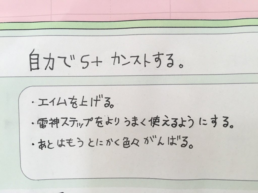 娘の中学校の1年間の目標欄に書いてあった言葉… 他の子達は部活やテストの話ばかりwww https://t.co/4zLZyjI3B8