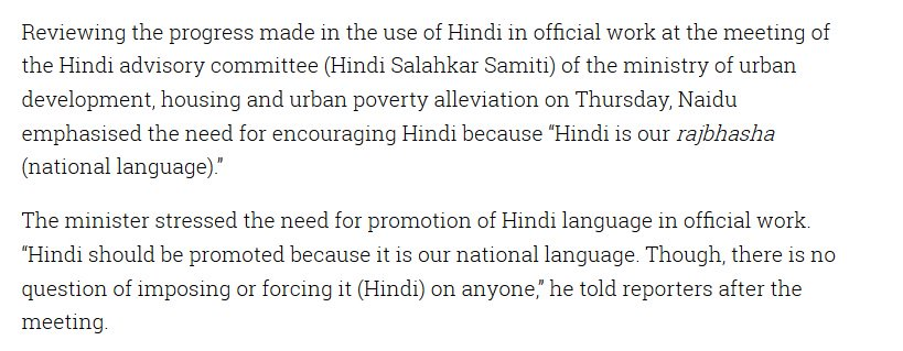 should hindi be our national language