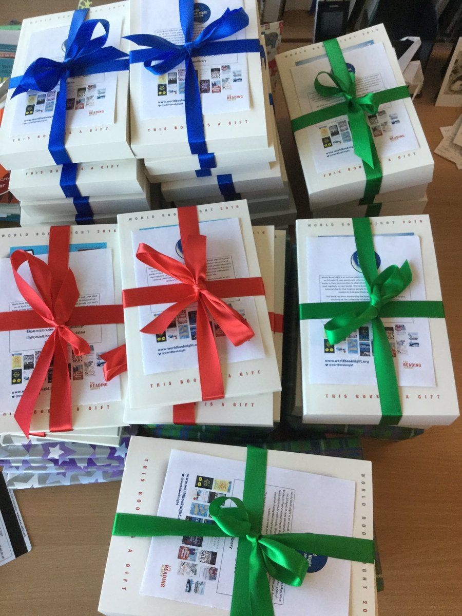 We are really excited about #WorldBookNight and have gift wrapped our books for some lucky readers! https://t.co/jJpxjzzYlL