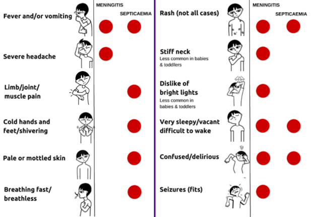 What better way to mark World #Meningitis Day than to share the symptoms globally? Please RT. #24HourMeningitis https://t.co/ozkNrFz8G2