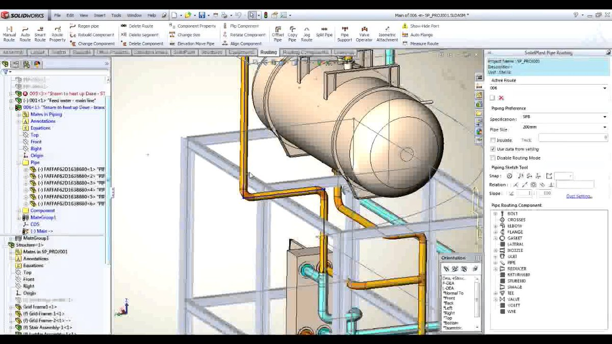 Solidplant Solidplant3d Twitter Piping Diagram Solidworks 0 Replies 2 Retweets 1 Like