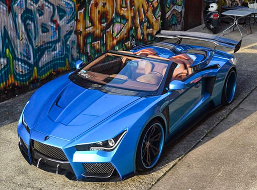 Gaskings On Twitter The Suicide Squad Jokers New Car The Vaydor