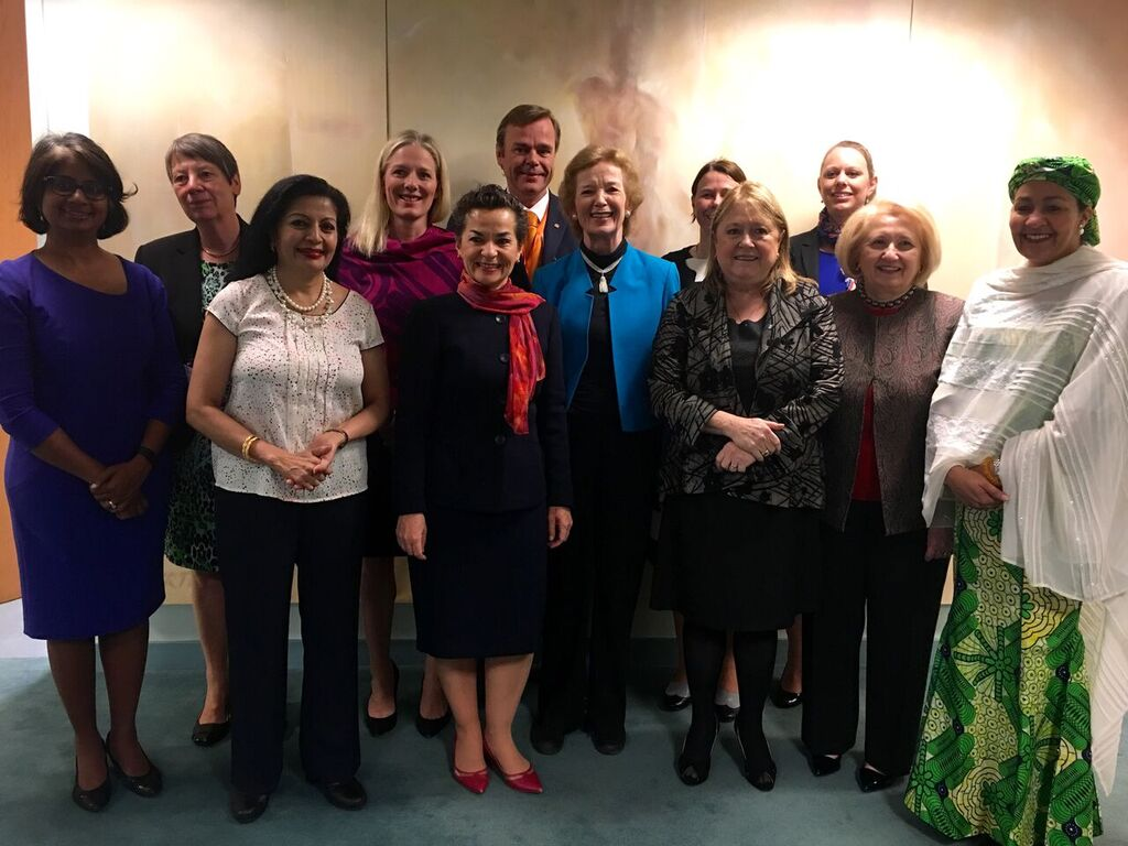 Excellent @MRFCJ gathering: Troika+ of Women Leaders on Gender and #ClimateChange. Thanks for having me! https://t.co/euy7y7gY5c