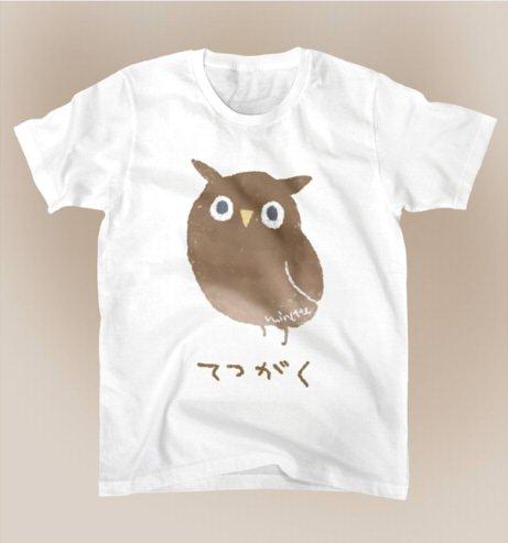 ということでTシャツ3種類をSUZURIで作りました てつがくするフクロウと、おさかなくわえた猫化けと、KUSOネズミです よしなに~! https://t.co/YzpHYIausm https://t.co/I9E2pQJQpJ