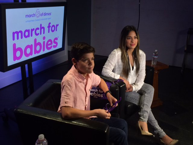 Talk about #preemiepower! @AllyBrooke & our Nat'l Amb. @_ismael_torres_ are getting excited for #marchforbabies! https://t.co/sqPoHq88yK
