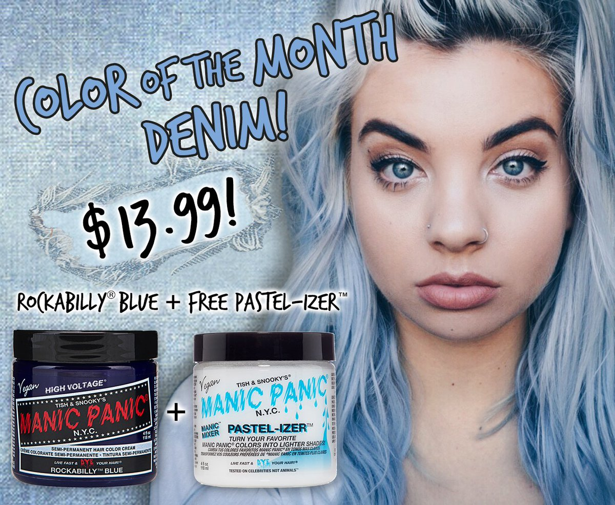 Manic Panic Nyc On Twitter Buy Rockabillyblue Get A Free